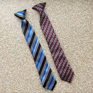 Other - Clip-On Slim Neckties For Boys